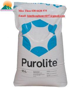 Hạt nhựa Purolite làm mềm nước