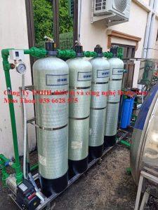 Bồn composide FRP lọc nước hệ UF