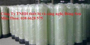 Bồn composide sử dụng van Runxin