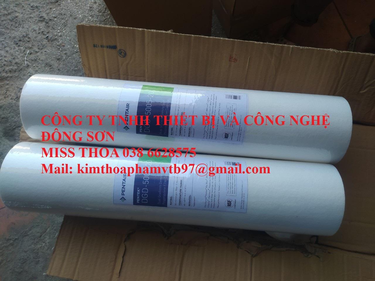 DGD-5005 Melt Blow Cartridge Filter