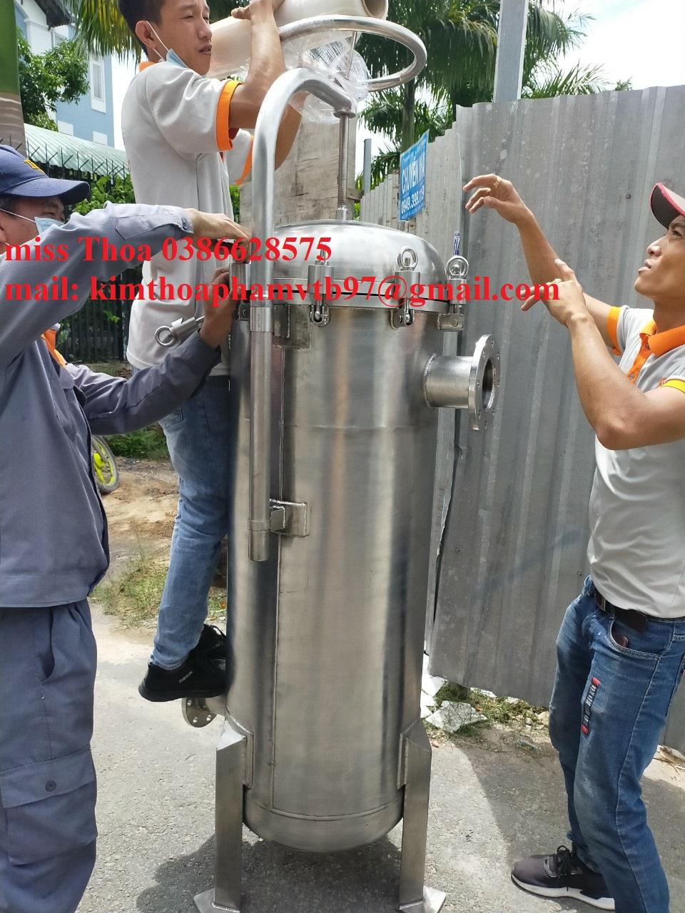 Housing bag Filter lưu lượng 120m3/h